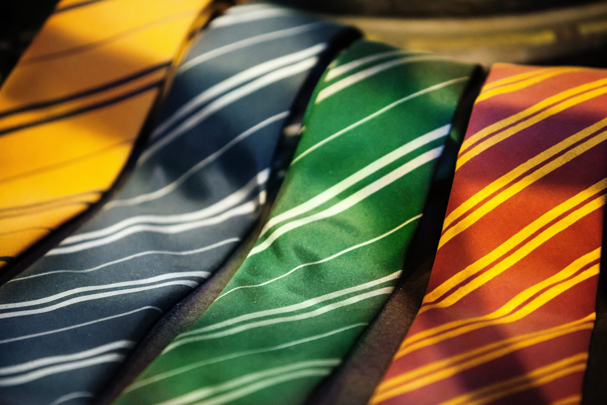 Four assorted ties